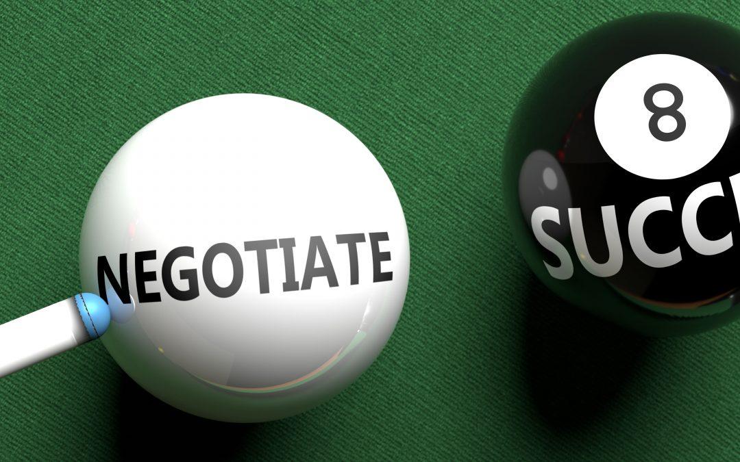 Verhandeln Sie Interessen statt um Positionen zu Streiten